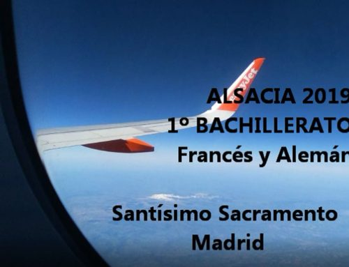 Viaje Alsacia 2019. Alumnos de Francés y Alemán de 1º bachillerato
