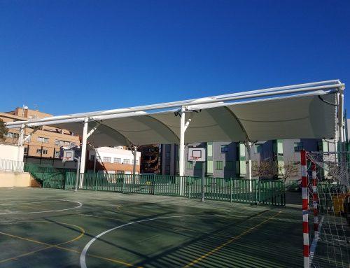 Novedad – Cubierta polideportivo