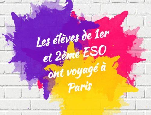 Trabajos francés de 1º y 2º ESO